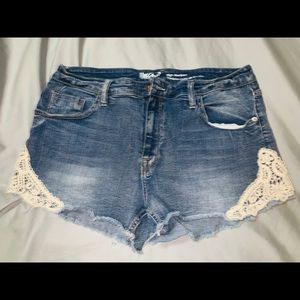 Mossimo denim super stretchy shorts
